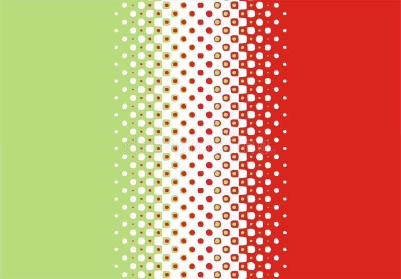 kolory w półtonach wzór kropki ilustracji