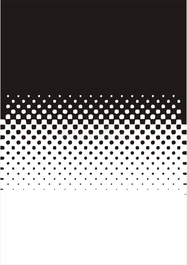 kolory w półtonach wzór kropki ilustracja wektor