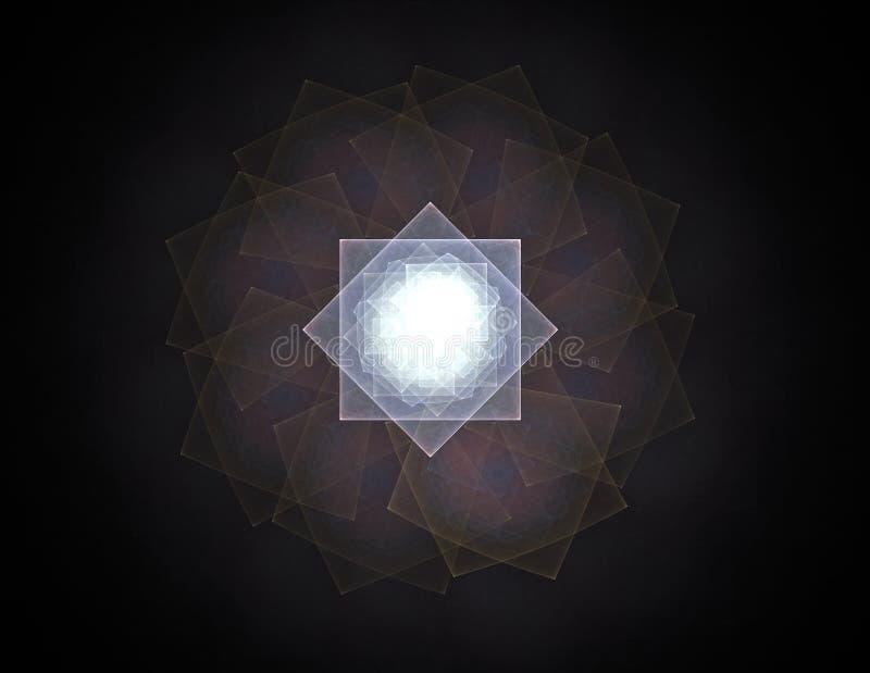 Kolory w seriach, Galanteryjna farba T?o sk?ada? si? z fractal koloru tekstura i jest stosowny dla use w projektach ilustracja wektor