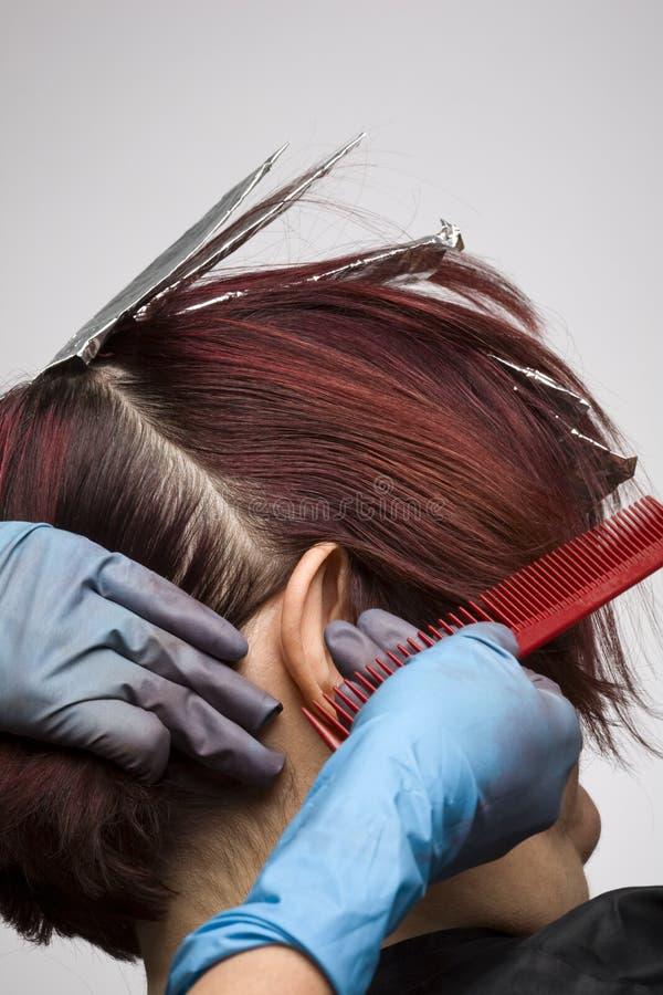 kolorysty włosy zdjęcia stock