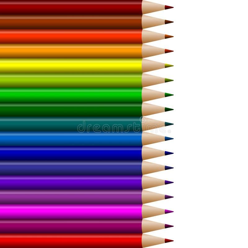 kolorystyka ołówki ilustracji