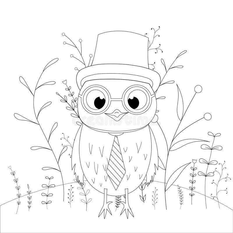 Kolorystyki strona dla dzieci, książka lub starzejemy się Rozwija dzieci s kolorystyka Wektorowa kreskówka ilustracji
