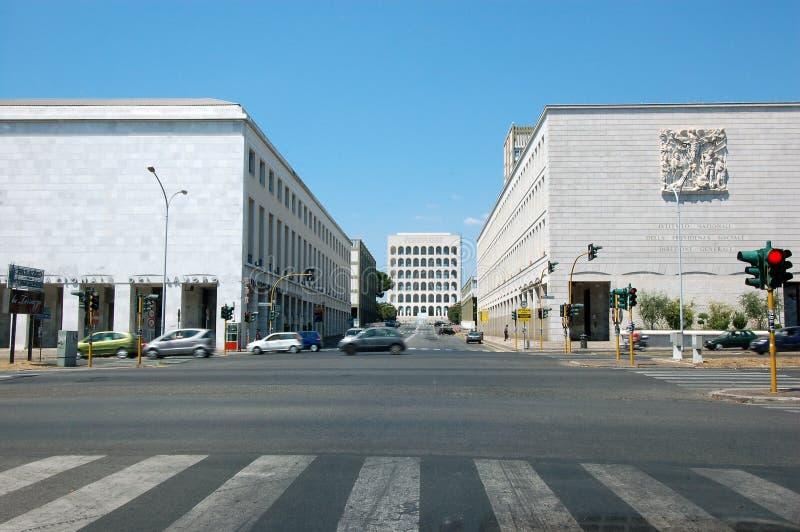 koloseum kwadratowego widok zdjęcia stock