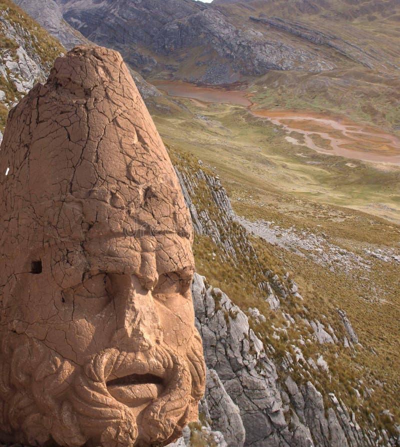 Kolossaal hoofd van Hercules stock afbeelding