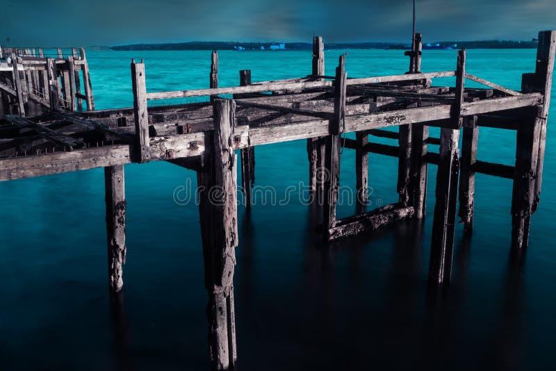 Kolossale ` s duurt haven stock afbeelding