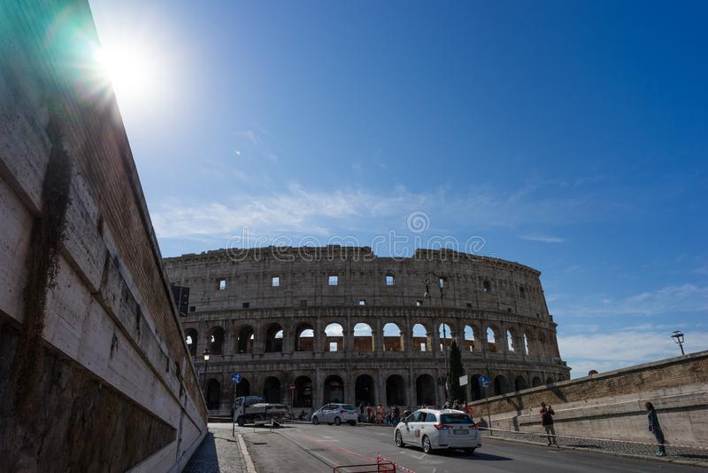 Kolosseum i Rom arkivfoton