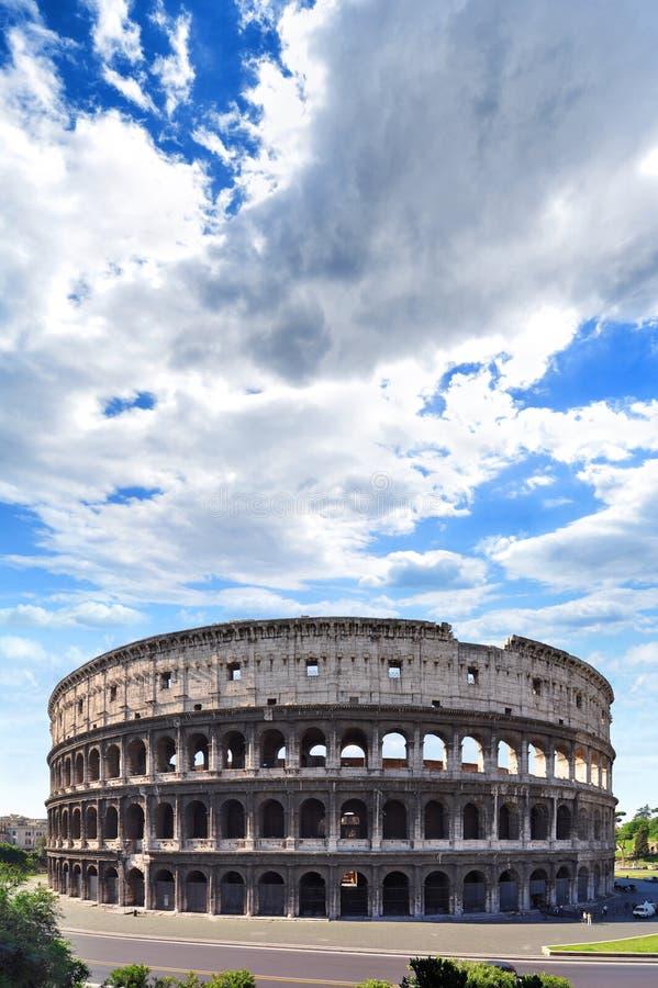 Kolosseum od imperium rzymskiego w Rzym, Włochy obrazy royalty free