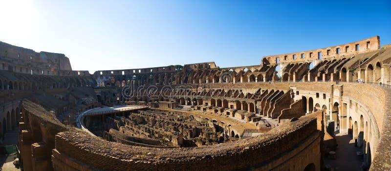 kolosseum panorama zdjęcie stock
