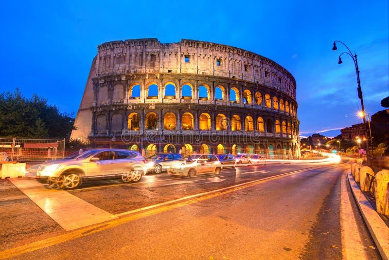 Kolosseum in Rom stockbilder