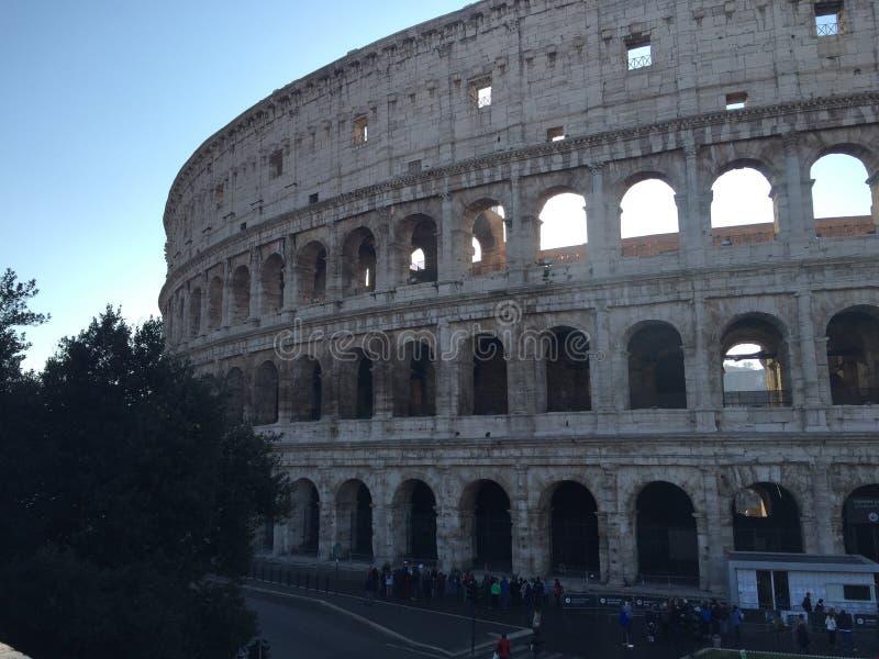 Kolosseum - Rom stockbild