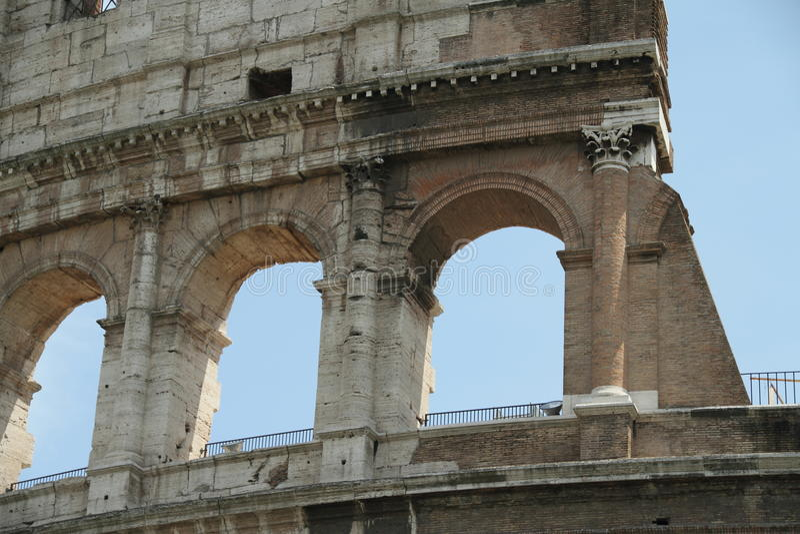 kolosseum rzymski fotografia stock