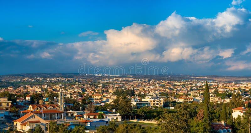 Kolossidorp Limassol District cyprus royalty-vrije stock afbeelding