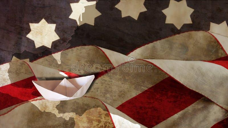 Kolumb dzień stany zjednoczone fotografia stock