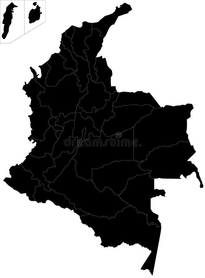 Kolumbia ilustracja wektor