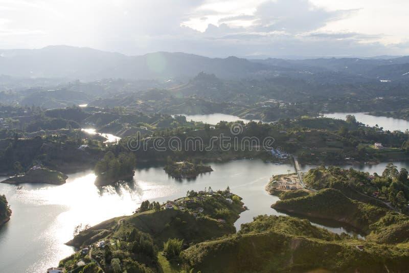 Kolumbianische Landschaft stockbilder