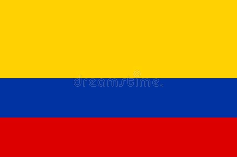 Download Kolumbien vektor abbildung. Illustration von farben, markierungsfahne - 30928