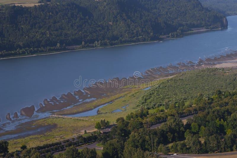 Kolumbien-Fluss lizenzfreie stockbilder