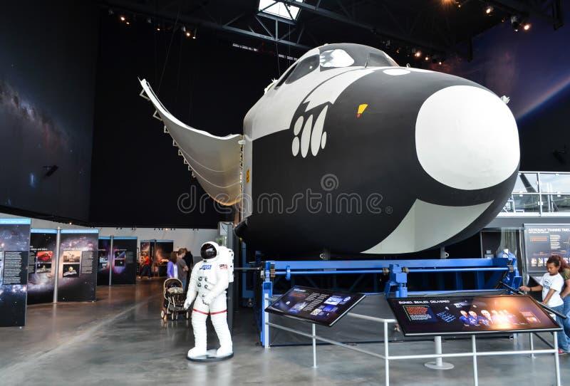 Kolumbien-Raumfähremodell stockfotos