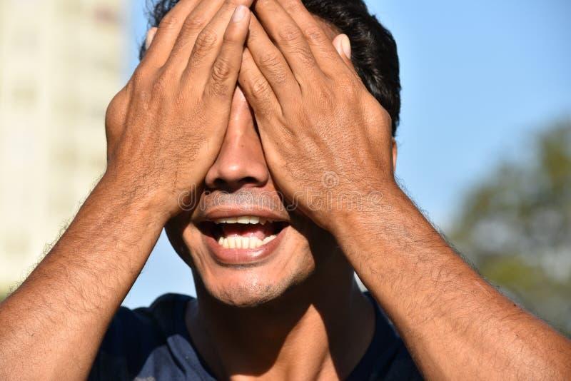 Kolumbijska samiec I beznadziejność zdjęcia royalty free
