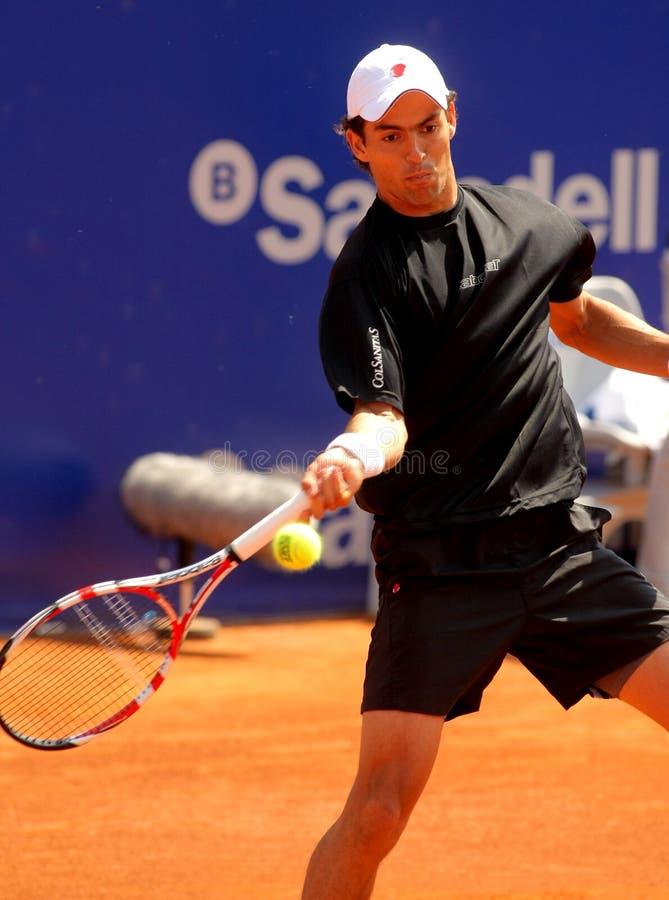kolumbijski giraldo gracza Santiago tenis zdjęcie royalty free