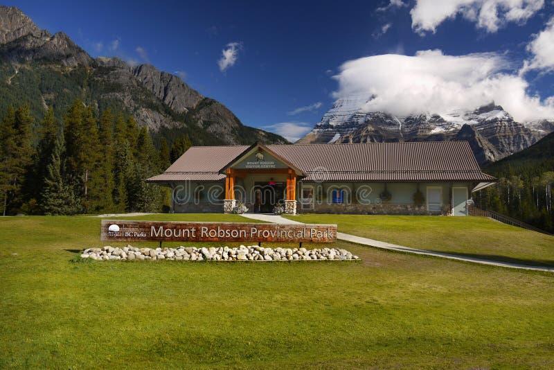 Kolumbiowie Brytyjska, góra gościa Centres obraz royalty free