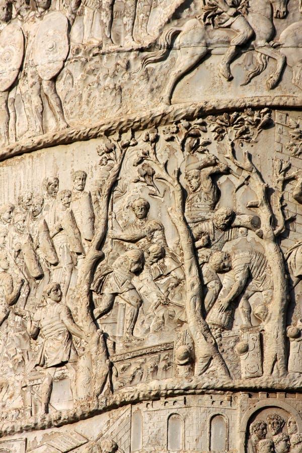 kolumna trajan zdjęcie royalty free