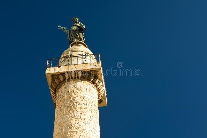 Kolumna Trajan w Rzym fotografia stock