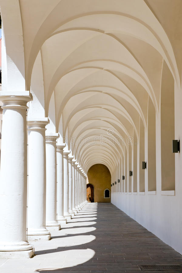 kolumnady stallhof obrazy stock