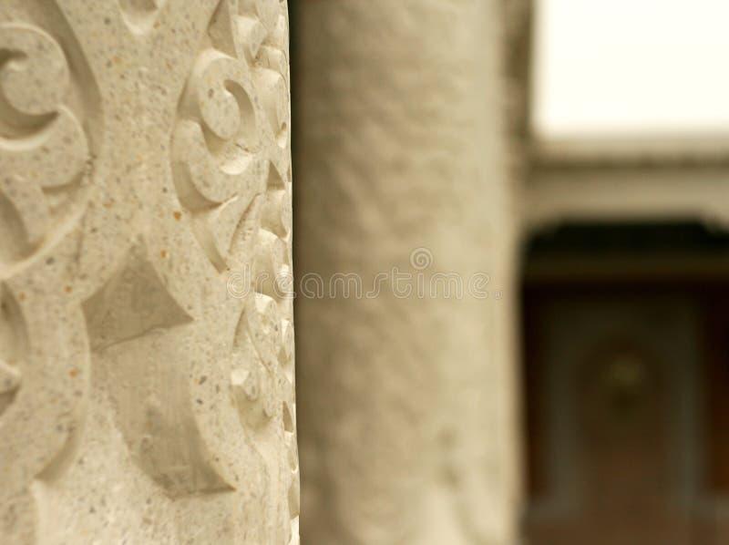 Kolumny antyczna świątynia obrazy royalty free