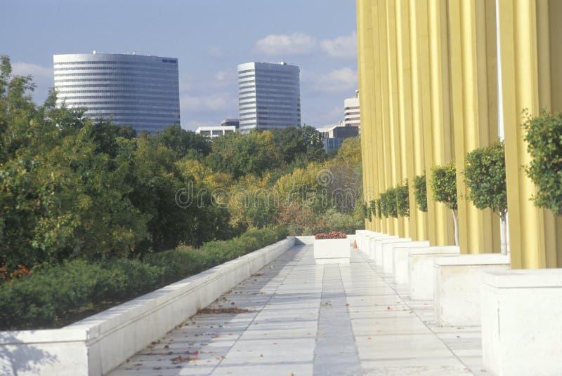 Kolumny Kennedy Centrum dla Przedstawień, Waszyngton, D C zdjęcie royalty free