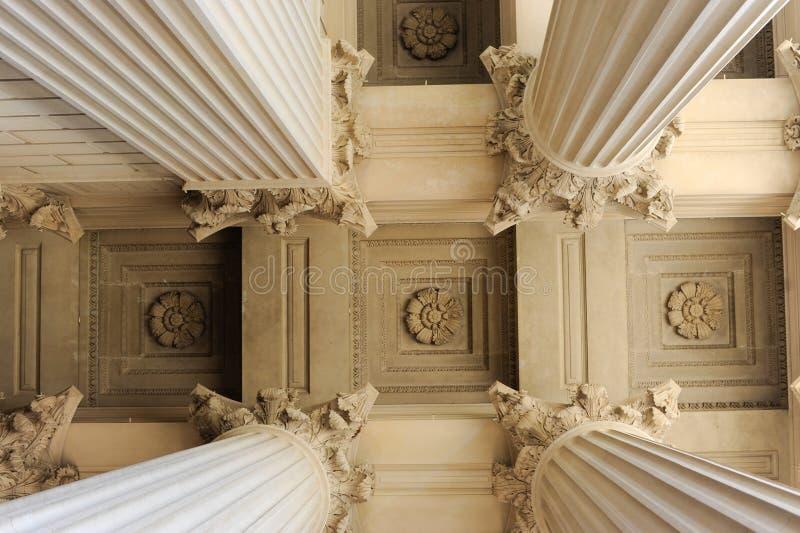 kolumny neoklasyczne obraz royalty free