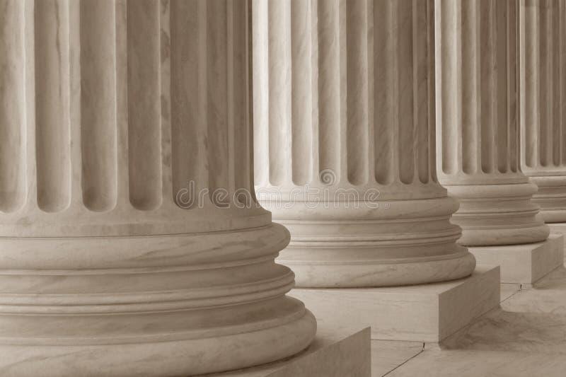 kolumny neoklasyczne obraz stock