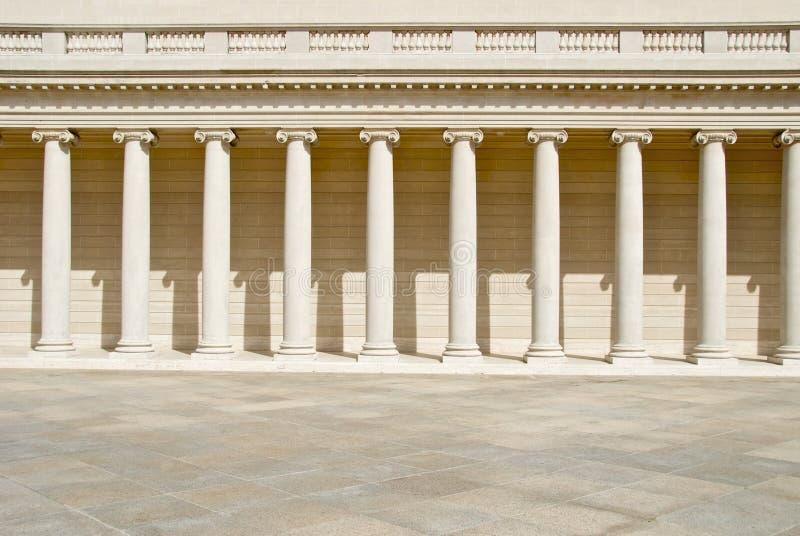 kolumny neoklasyczne fotografia stock