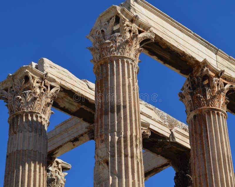 Kolumny przy Ephesus obrazy royalty free