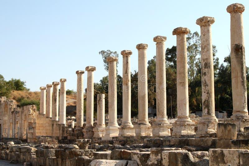 kolumny rzymskie zdjęcia stock