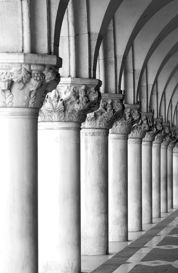 kolumny Wenecji zdjęcia royalty free