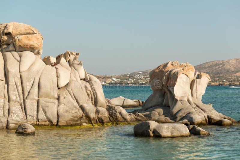 Kolymbithres plaża zdjęcie royalty free