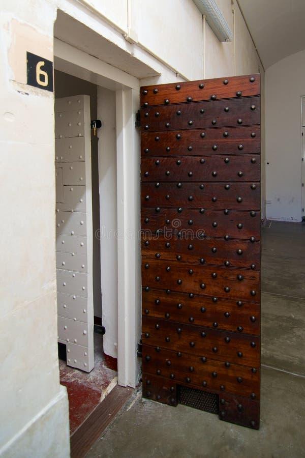Komórek drzwi Fremantle więzienie, zachodnia australia obrazy royalty free