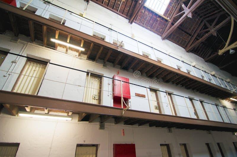 Komórek drzwi Fremantle więzienie, zachodnia australia zdjęcia royalty free