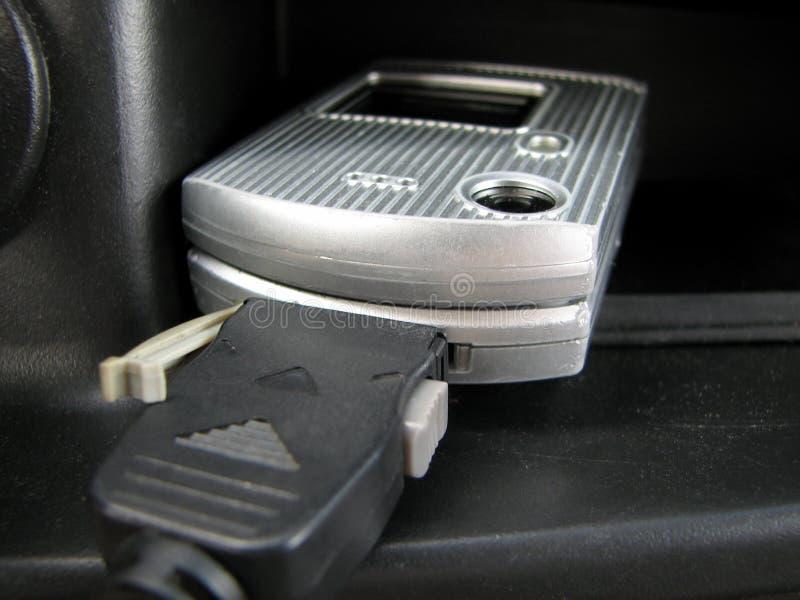 komórka ładuje telefon zdjęcia stock