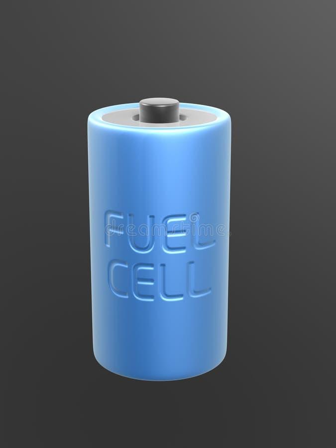 komórki bateryjny błękitny paliwo royalty ilustracja