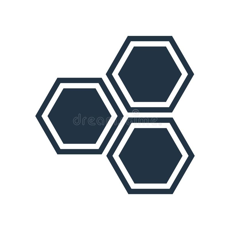 Komórki ikony wektor odizolowywający na białym tle, komórki podpisuje ilustracja wektor
