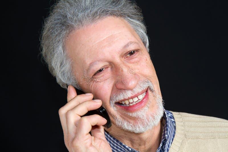 komórki mężczyzna telefon zdjęcie stock