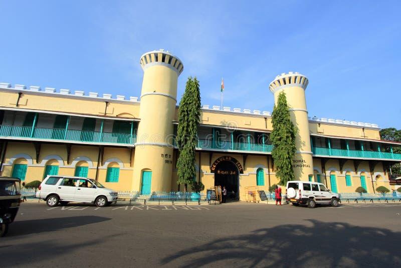 komórkowy andamans więzienie obrazy royalty free