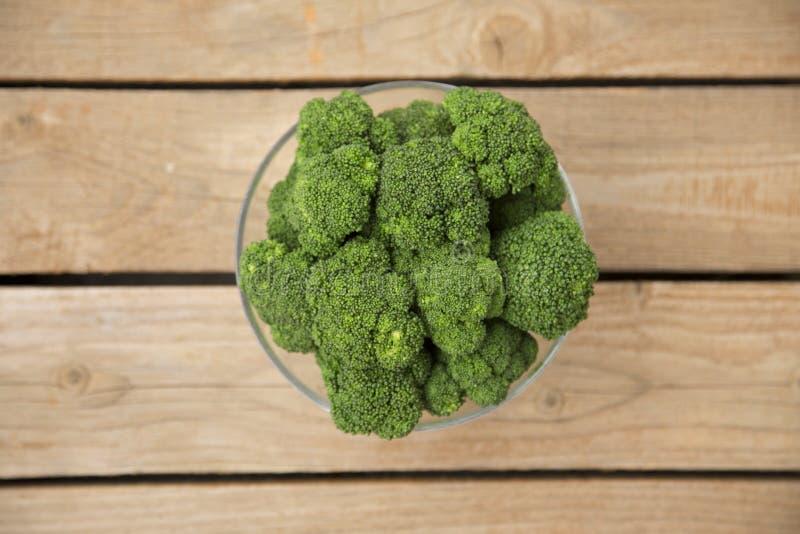 Kom Broccoli stock afbeeldingen
