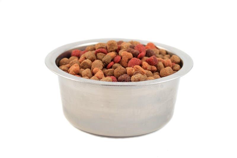 Kom dogfood royalty-vrije stock foto's