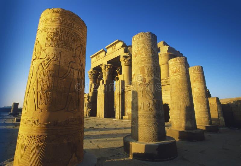 Kom Ombo, Ägypten lizenzfreies stockfoto