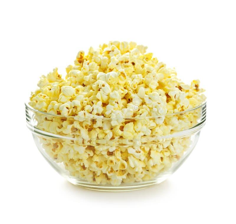 Kom popcorn stock foto's