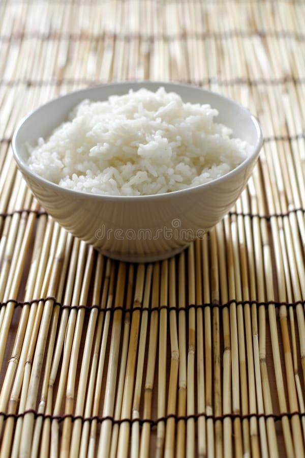 Kom rijst stock foto's