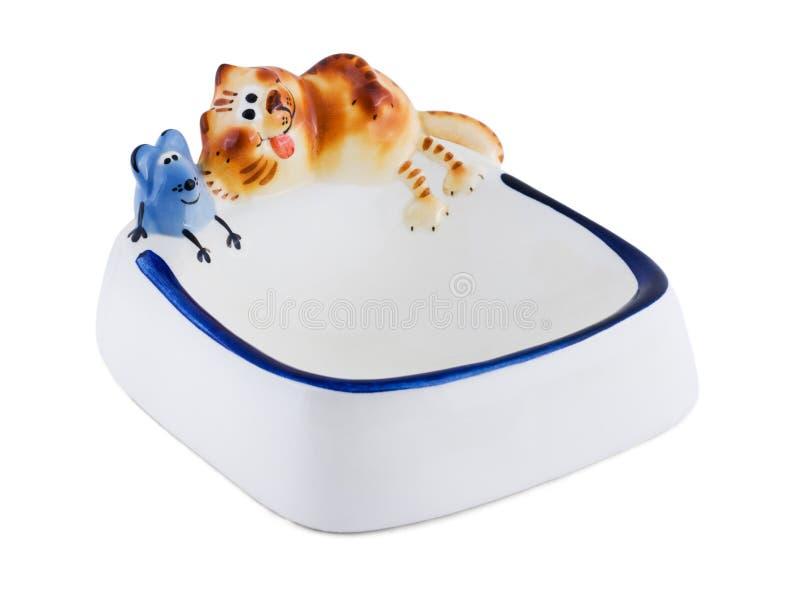 Kom voor huisdieren stock foto